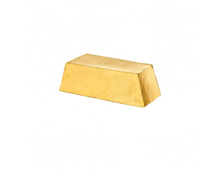 Savon solide lingot d'Or