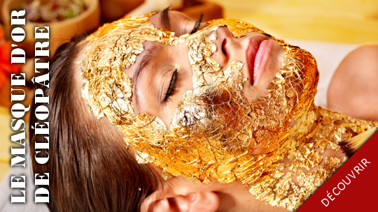 Masque d'or Luxury Gold posé a l'institut Lysis Rodez
